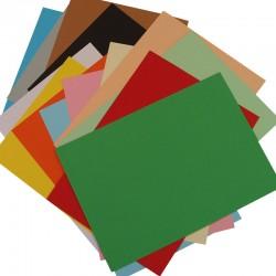 Cartulina colores surtidos
