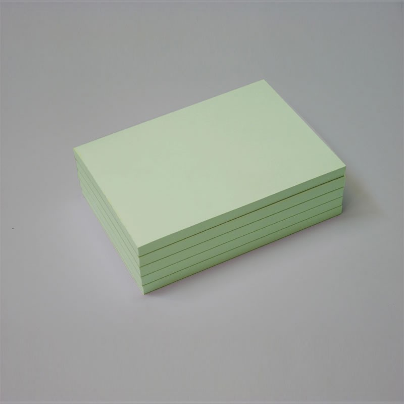 Bloc papel verde claro