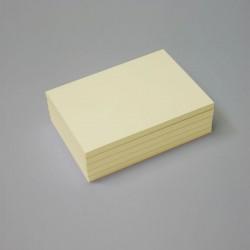 Bloc papel amarillo