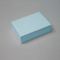 Bloc papel azul