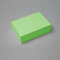 Bloc papel verde
