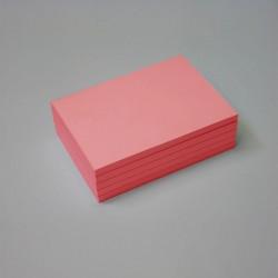 Bloc papel rojo