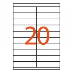 20 etiquetas adhesivas