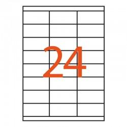 24 etiquetas adhesivas