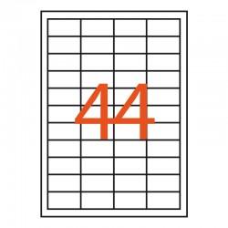 44 etiquetas adhesivas