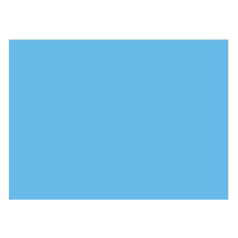 Adhesivo azul mate