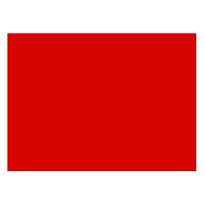 Adhesivo rojo mate