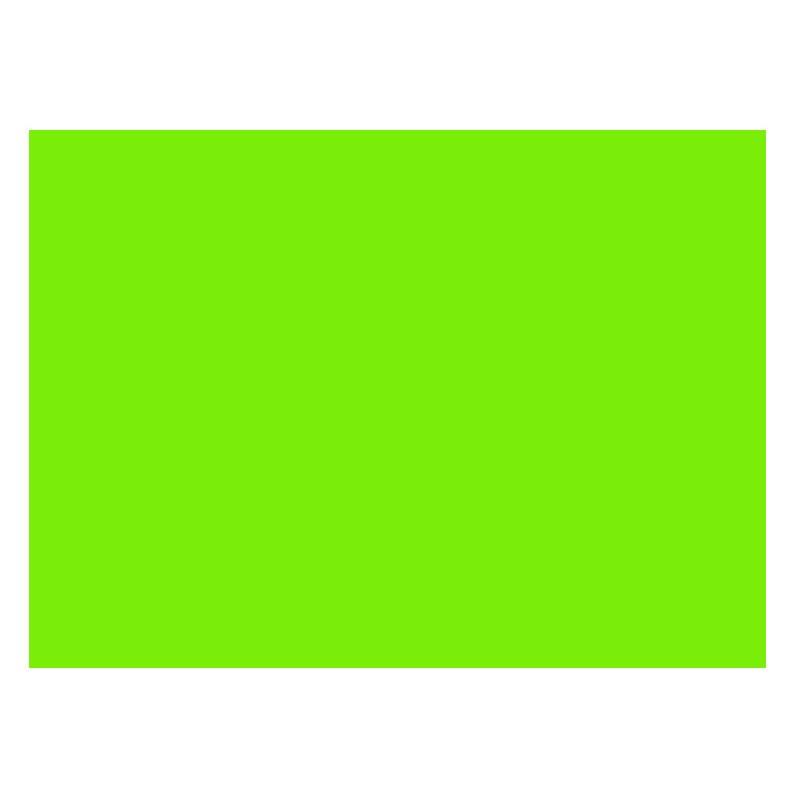 Adhesivo verde radiante