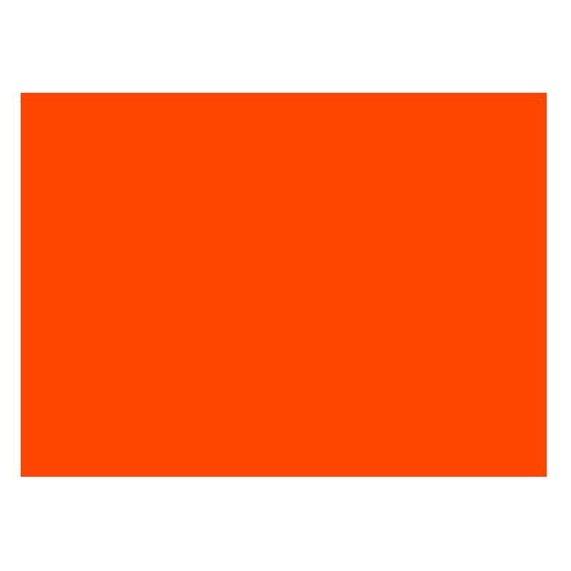 Adhesivo rojo radiante