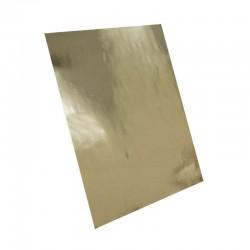Adhesivo metalizado oro brillo