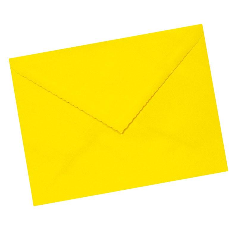 Sobre 160x220 amarillo limón
