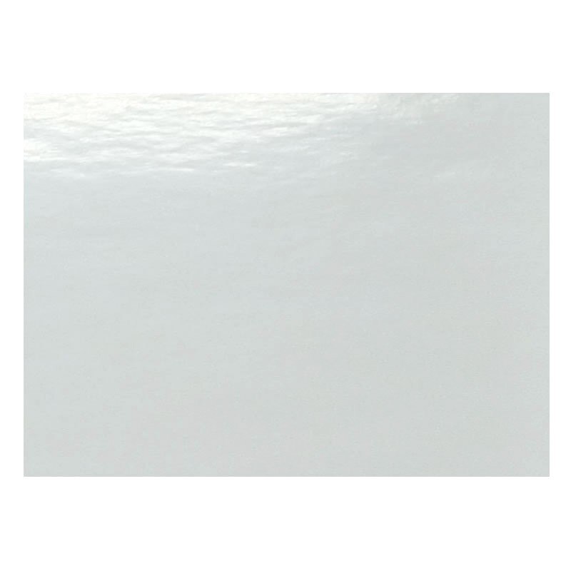 Adhesivo removible blanco brillo