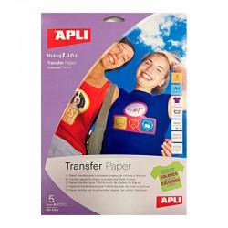 Papel transfer (para camisetas de color)