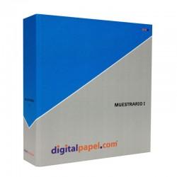 Muestrario de papel y cartulina (I)