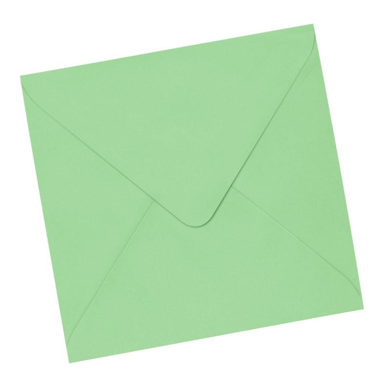 Sobre 170x170 verde claro