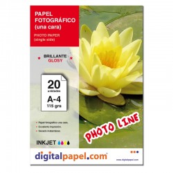 Papel fotográfico (20 hojas)