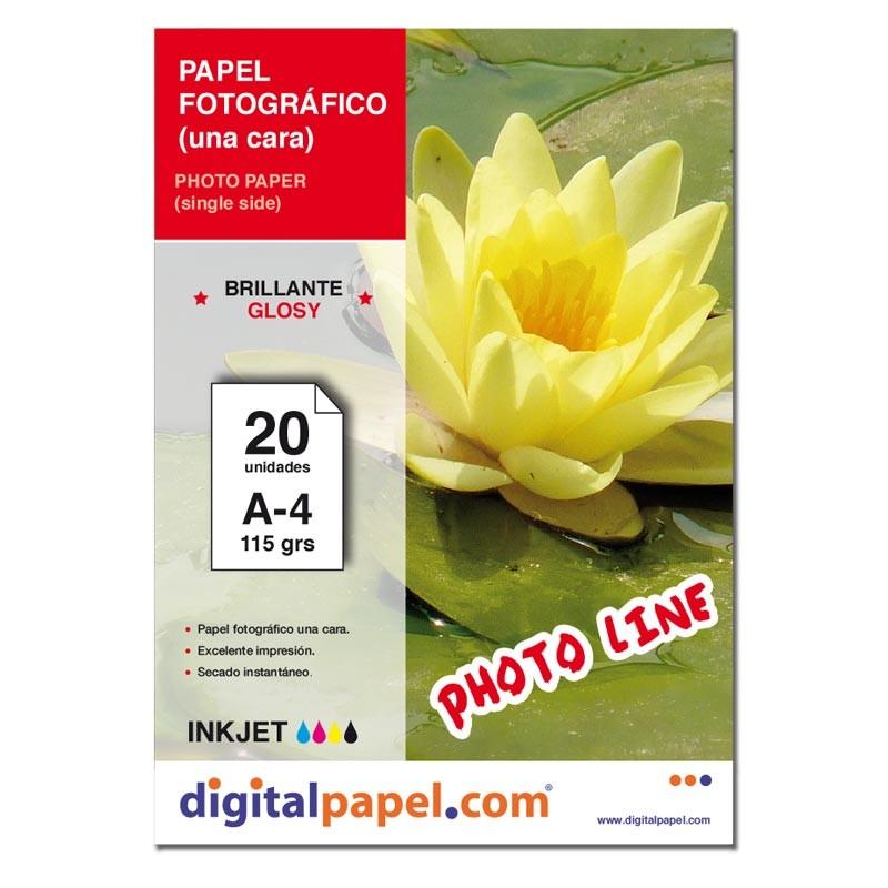 Papel fotográfico (50 hojas)