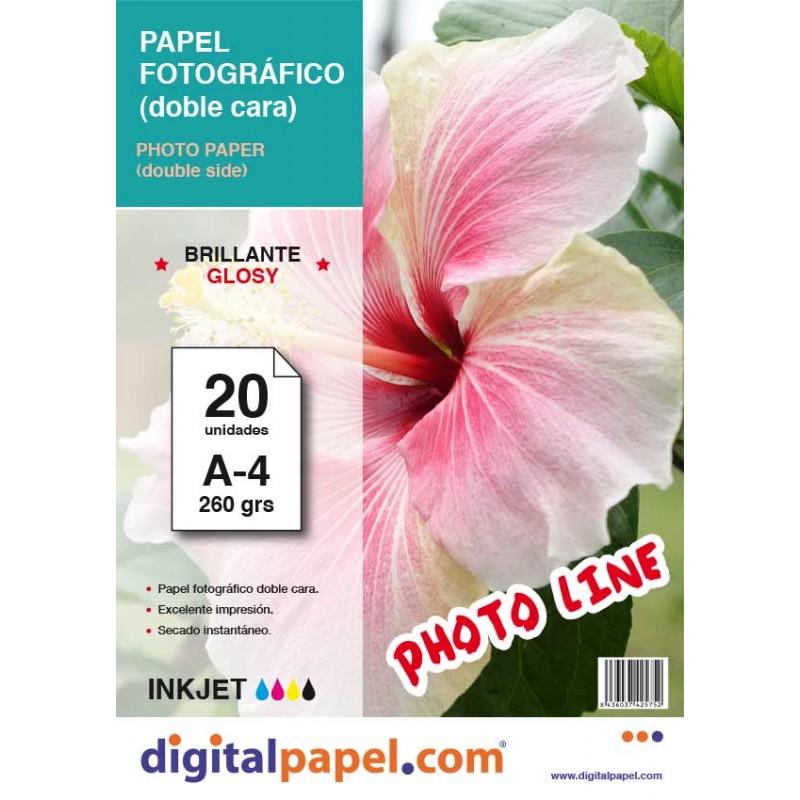 Papel fotográfico doble cara (50 hojas)